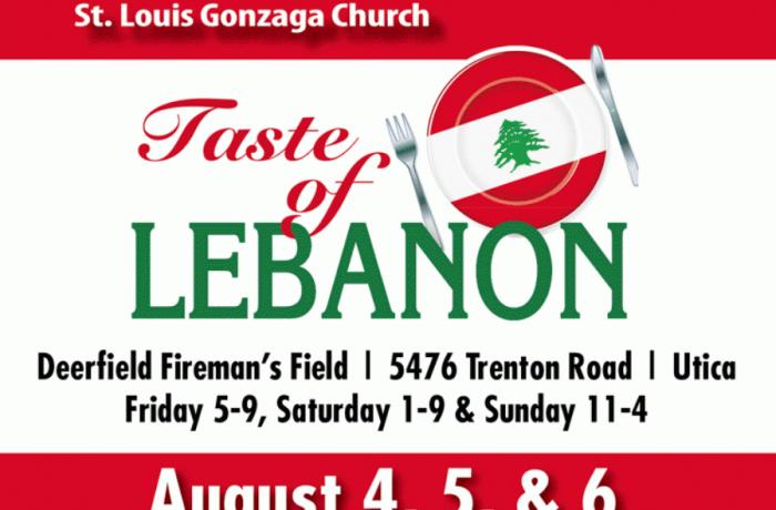 Taste of Lebanon – 2017