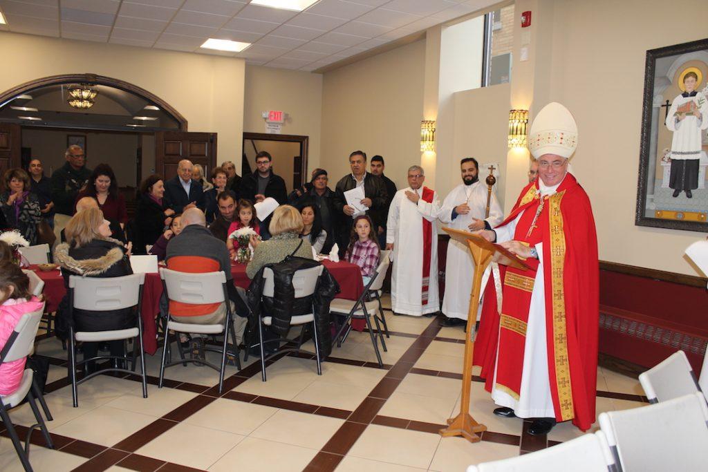 Dedication of George T. Sfeir Parish Hall